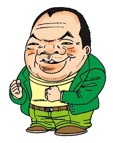 【ガッツ石松】 ボクシング界のパンチドランカー代表選手ですね(^^ゞ 聞こえはいいけど、結局頭を